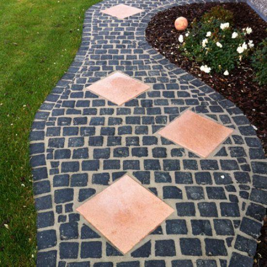 Nero-Granit-Pflaster