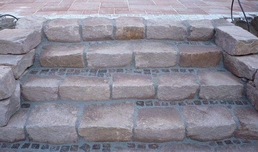 Sandsteintreppe